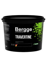 Bergge Travertino декоративна штукатурка з ефектом каменю 15кг