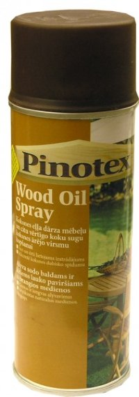 PINOTEX WOOD OIL SPRAY масло для терас 0.4л